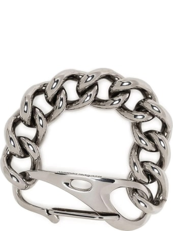 Alexander McQueen Oversize Chain Hook Bracelet