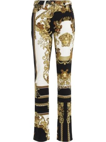Versace 'medusa Reinaissance' Jeans