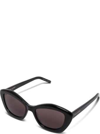 Saint Laurent Black Cat Eye Sunglasses