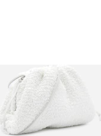 Bottega Veneta Mini Pouch In Bouclé Raffia