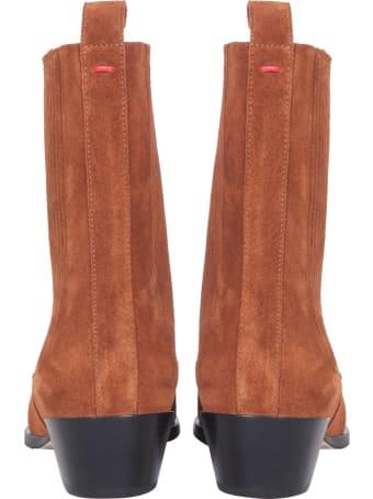 aeyde Belinda Suede Boots