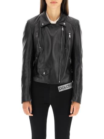 Dolce & Gabbana Soft Nappa Biker Jacket