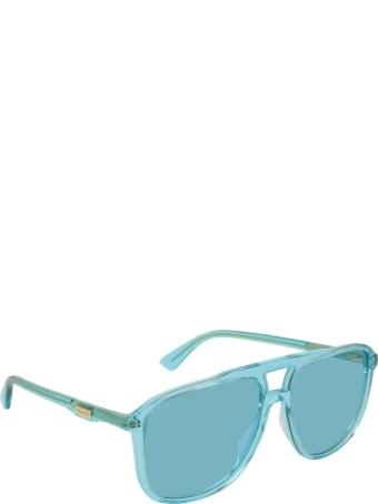 Gucci Gucci Gg0262s Light Blue Sunglasses