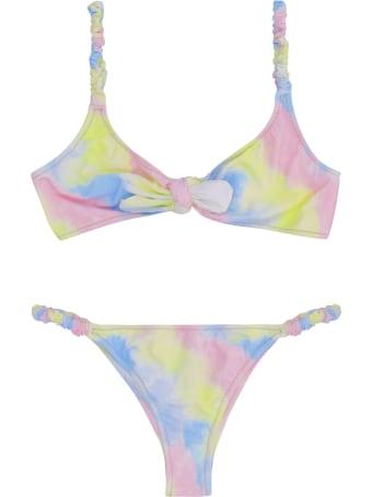 Reina Olga Luca Printed Bikini