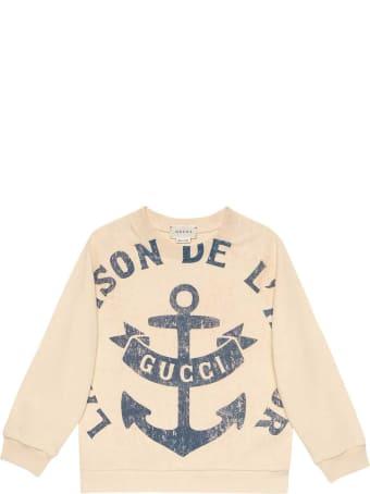 Gucci Cream Sweatshirt