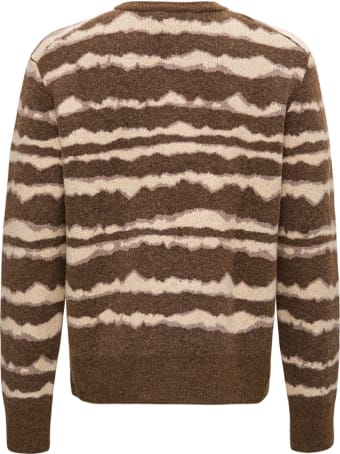 Nanushka Tie Dye Wool Blend Sweater