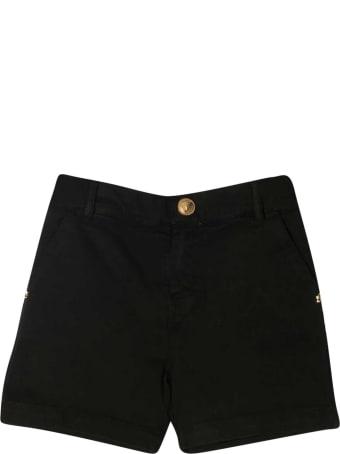Young Versace Black Shorts