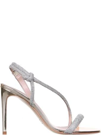 Ninalilou Love Sandals With Swarovski