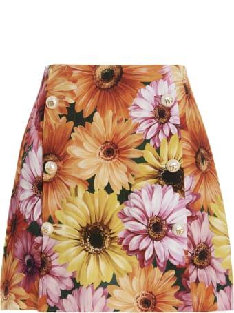 Dolce & Gabbana 'gerbere' Skirt