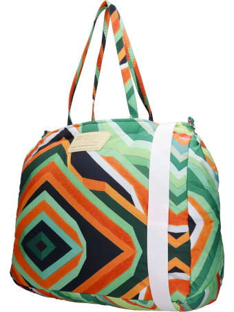 Formy Studio Shoulder Bag In Green Polyester