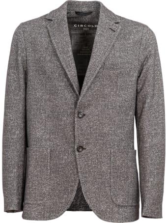 Circolo 1901 Circolo Single-breasted Cotton Jacket