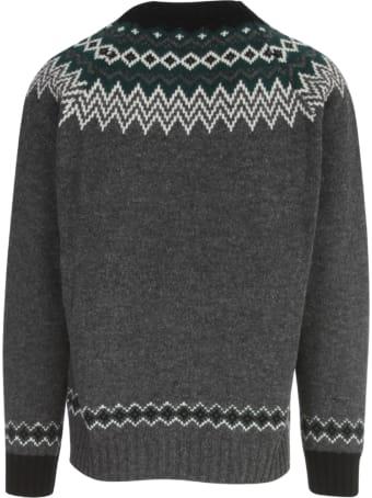 Junya Watanabe Comme Des Garçons Jacquard Sweater