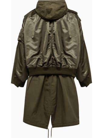 Mihara Yasuhiro Parka Jacket A06ct061