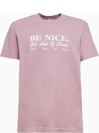 Sporty & Rich Be Nice T-shirt Ts182fn