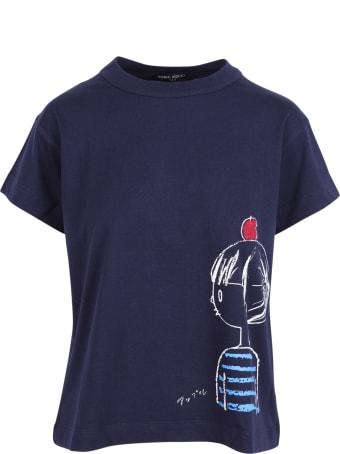 Yoshi Kondo 'meal' Cotton T-shirt