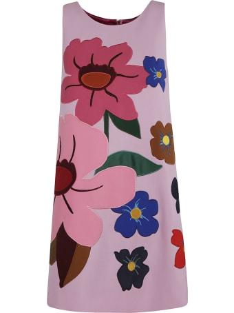 Dolce & Gabbana Sleeveless Floral Dress
