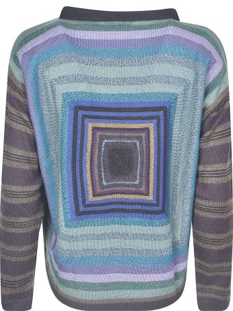 De Clercq Stripe Patterned Sweater