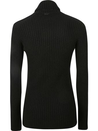 Saint Laurent Turtleneck Ribbed Sweater