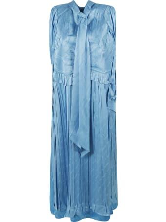 Balenciaga Sleeveless Patched Dress