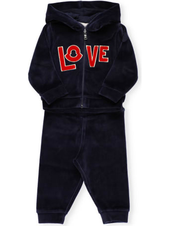 Moncler Two Pieces Trackpant With Logo