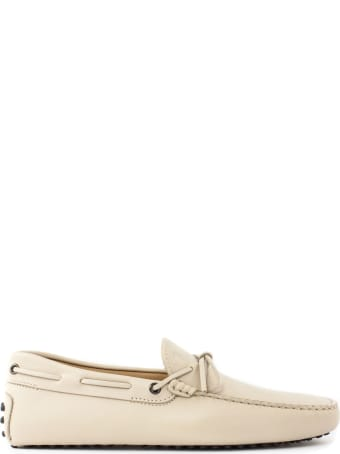 Tod's Beige Gommino Driving Shoes