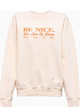 Sporty & Rich Sporty And Rich Be Nice Sweatshirt Cr172mk