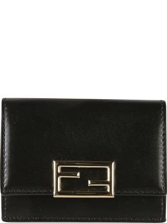 Fendi Tri-fold Buttoned Wallet