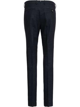 Berwich Grey Tailored Wool Trousers