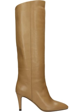 The Seller High Heels Boots In Beige Leather