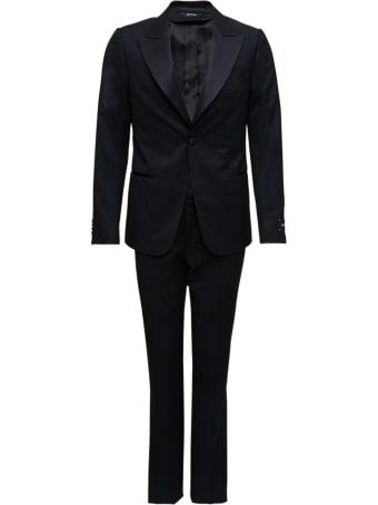 Z Zegna Black Tailored Suit