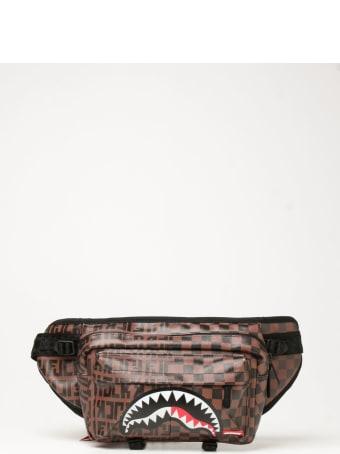 Sprayground Belt Bag Sprayground Belt Bag In Vegan Leather With Shark Mouth Print