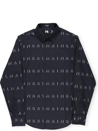 Balmain Shirt With Logo