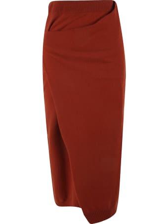 Kenzo Draped Midi Skirt