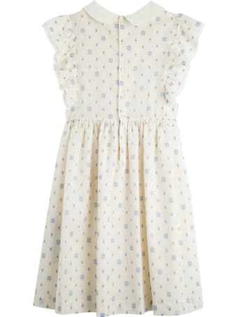 Gucci Gg Polka Dot Cotton Dress