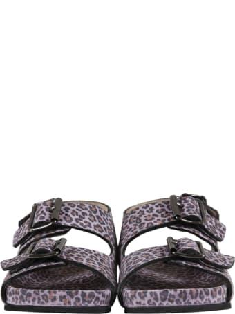 Gallucci Purple Sandals For Girl