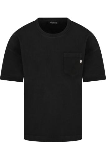 Dondup Black T-shirt For Boy