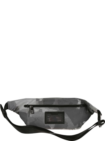Dolce & Gabbana Logo Plaque Camouflage Belt Bag