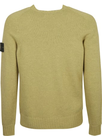 Stone Island Logo Sleeve Sweater