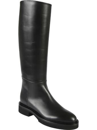 Khaite Derby Knee High Riding Boots