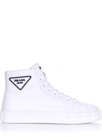 Prada Wheel White Sneaker
