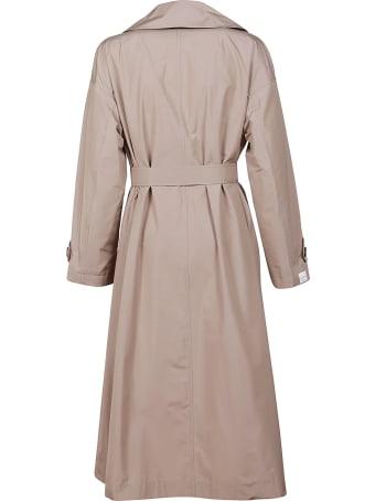 Max Mara Pink Technical Fabric Coat