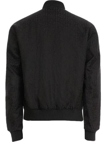 Balmain Reversible Black Bomber Jacket