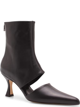 Kalda 'sys' Leather Ankle Boots