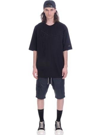 Rick Owens T-shirt In Bordeaux Cotton