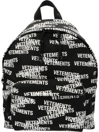 VETEMENTS 'stamped Logo' Bag