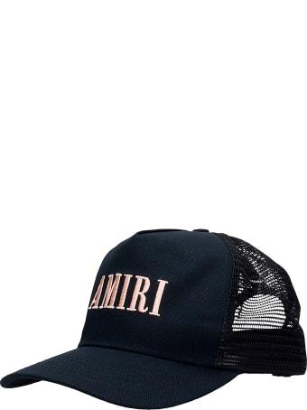 AMIRI Core Trucker  Hats In Black Cotton