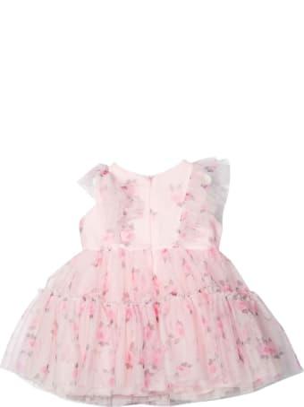 Monnalisa Baby Girl Pink Dress