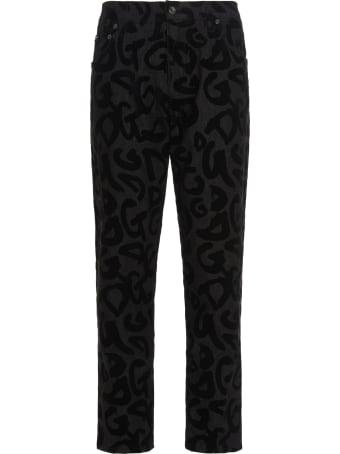 Dolce & Gabbana Loose Logo Jeans