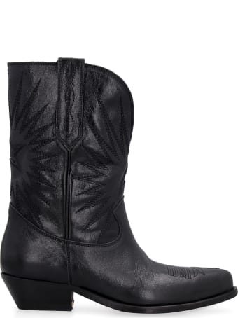 Golden Goose Wish Star Leather Boots