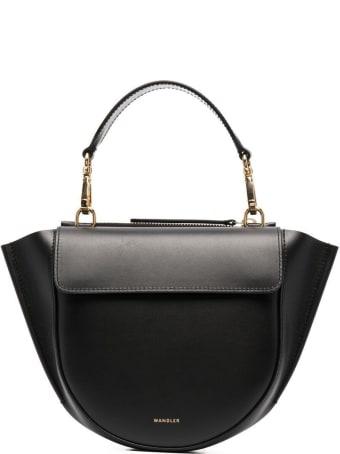 Wandler Hortensia Mini Handbag In Black Leather